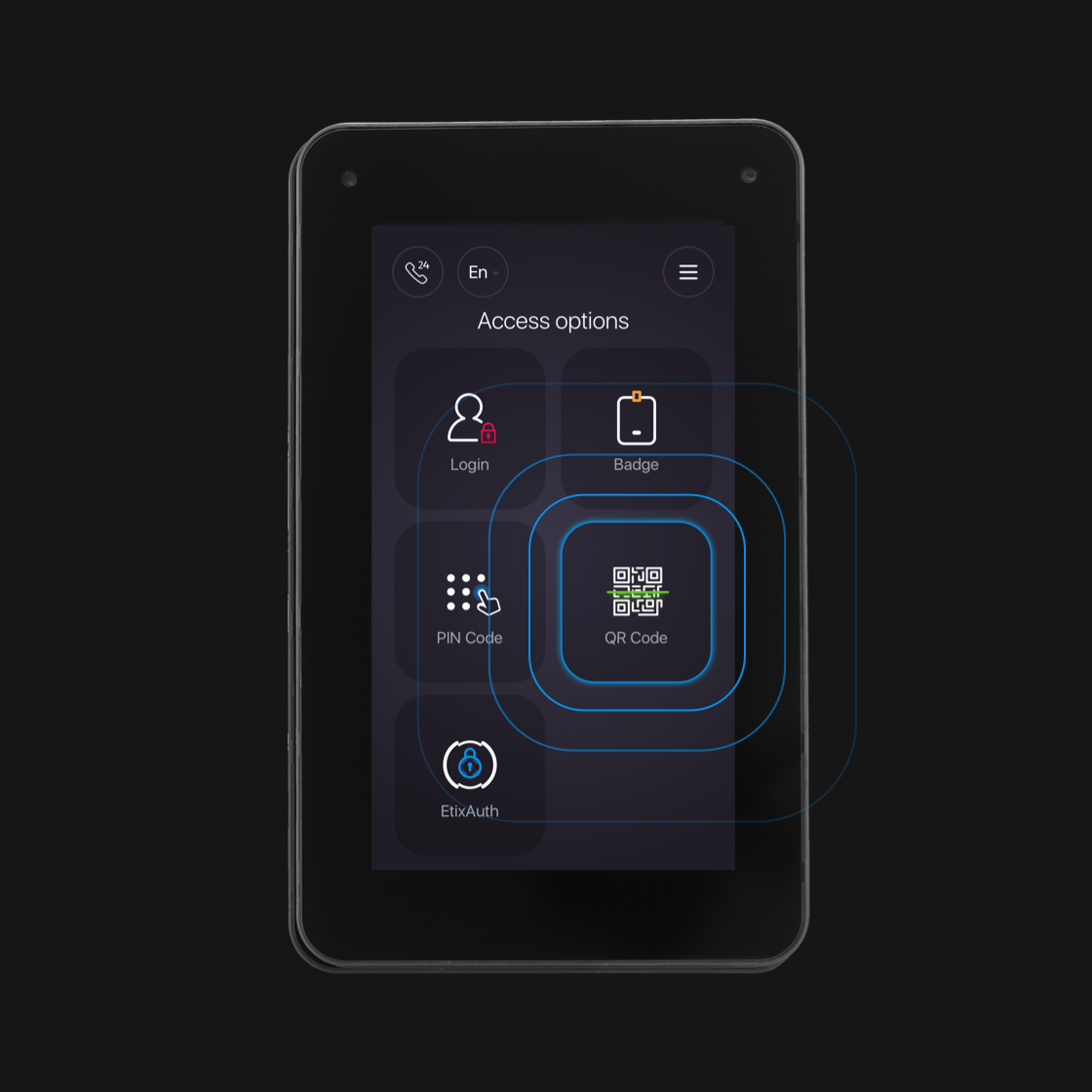 UI for the world's most flexible intelligent locker for datacenters