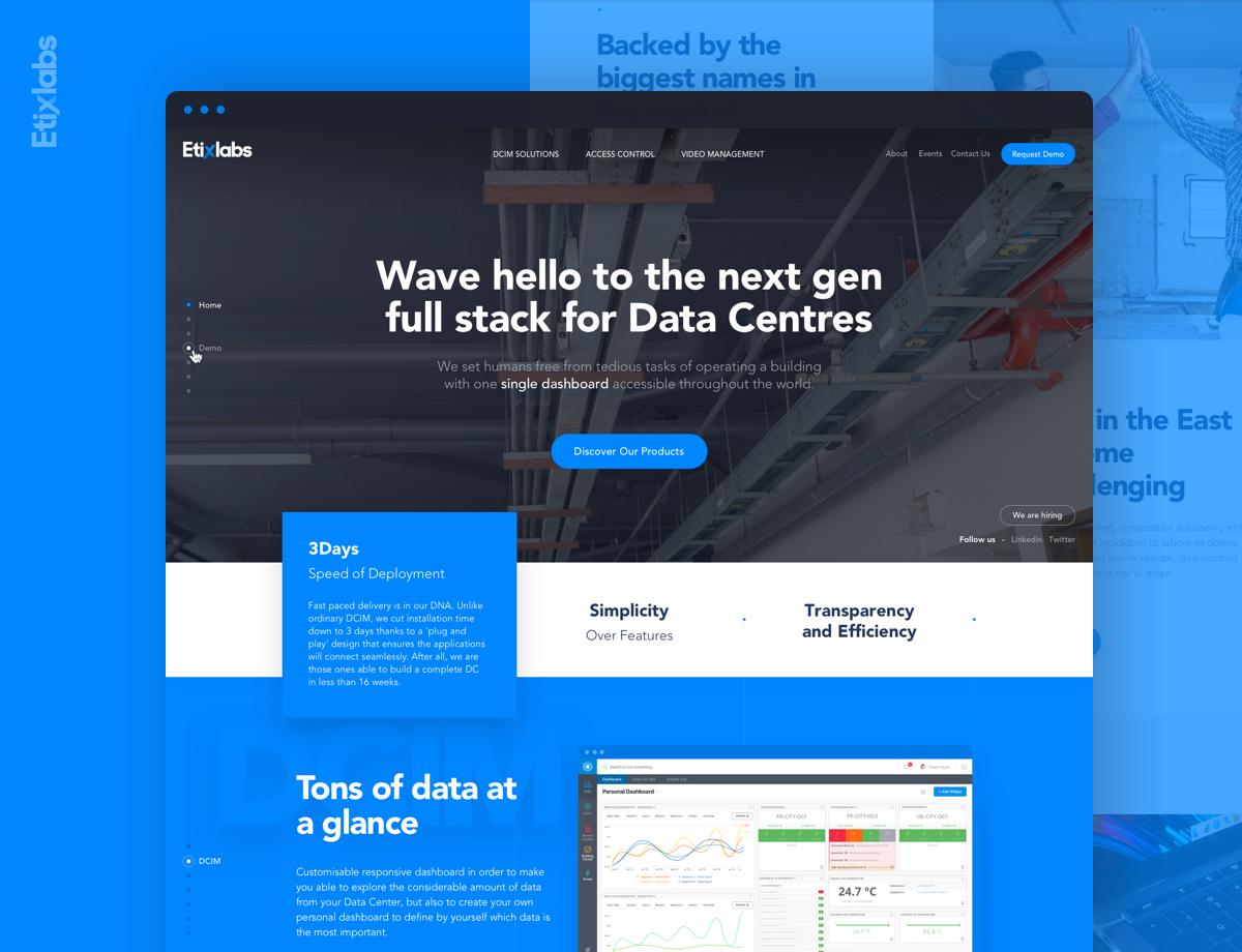 Etix Labs Branding and Website Design